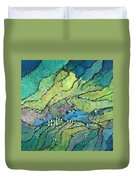 Haystack Mountain Duvet Cover