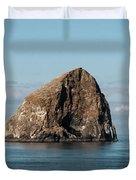 Haystack Rock - Pacific City Oregon Coast Duvet Cover