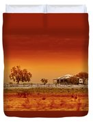 Hazy Days Duvet Cover by Holly Kempe