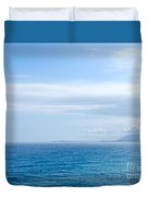 Hazy Ocean View Duvet Cover
