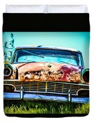 Hdr Car Duvet Cover