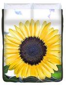 Hdr Sunflower Duvet Cover