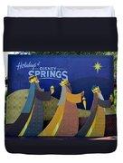 Three Wise Men Disney Springs Duvet Cover