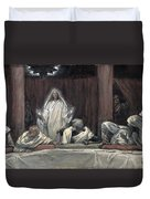 He Appeared To The Eleven Duvet Cover by Tissot