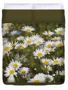 He Loves Me Daisies Duvet Cover