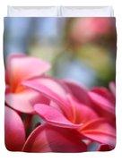 He Pua Lahaole Ulu Wehi Aloha Duvet Cover