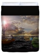 He Who Dared To Care Duvet Cover