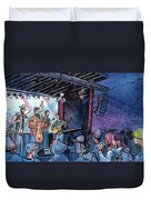 Head For The Hills At The Mish Duvet Cover