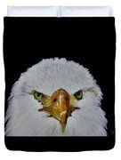 Head Of An Eagle  Duvet Cover