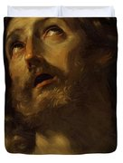 Head Of Christ Crowned With Thorns 1620 Duvet Cover