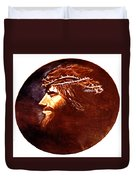 Head Of Christ Duvet Cover