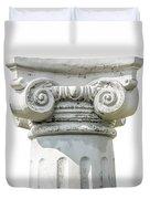 Head Of Column Duvet Cover