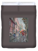 Heading Home In Havava Duvet Cover