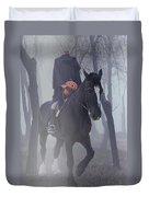 Headless Horseman Duvet Cover by Christine Till