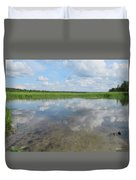 Headwaters Of The Mississippi Duvet Cover