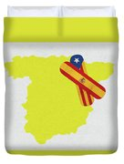 Heal Spain And Catalonia Duvet Cover