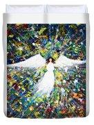 Healing Angel 1 Duvet Cover