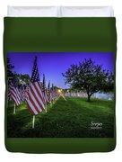 Healing Field  Duvet Cover