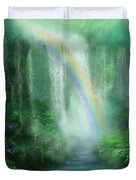 Healing Grotto Duvet Cover