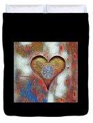 Healing The Heart Duvet Cover