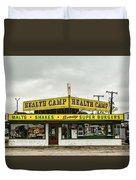 Health Camp Duvet Cover