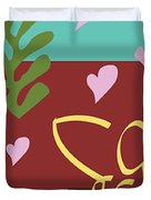 Health - Celebrate Life 3 Duvet Cover