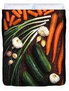 Healthy Vegetables Duvet Cover