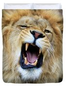 Hear Me Roar Duvet Cover