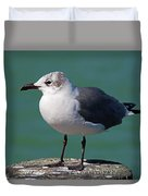 Hearing Voices Duvet Cover