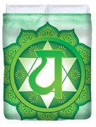 Heart Chakra Duvet Cover