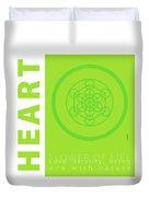 Heart Chakra Series Three Duvet Cover