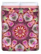Heart Garden Duvet Cover