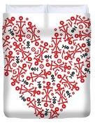Heart Icon Duvet Cover