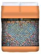 Heart Of Stone Duvet Cover