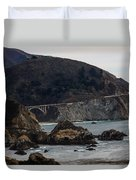 Heart Of The Bixby Bridge Duvet Cover