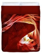 Heart Of The Canyon Duvet Cover
