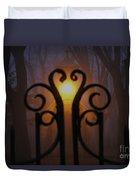 Heart Of The Cemetery Duvet Cover