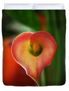 Heart Of The Lily Duvet Cover