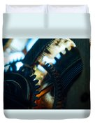 Heart Of The Machine - Time Duvet Cover