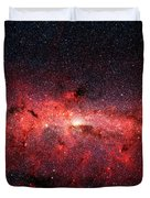 Heart Of The Milky Way Duvet Cover