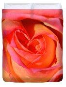 Heart Of The Rose Duvet Cover