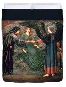 Heart Of The Rose Duvet Cover by Sir Edward Burne-Jones