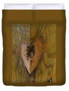 Heart Of The Wood Duvet Cover