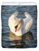 Heart Shaped Pride And Grace Duvet Cover
