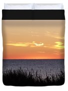 Heart Sunset Duvet Cover
