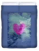 Heart Waves Duvet Cover