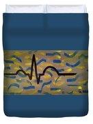 Heartbeat Duvet Cover