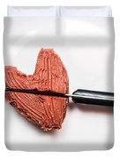 Heartbreak Cake Duvet Cover