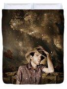 Heartland Of Outback Country Australia Duvet Cover