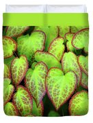 Hearts In Nature Duvet Cover